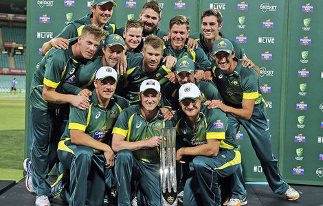 جنوبی افریقہ کو شکست دیکر آسٹریلیا عالمی نمبر ایک بن گیا