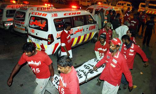کراچی:اےاین پی عہدیدارقتل،وزیراعلی ہاؤس پردھرنا