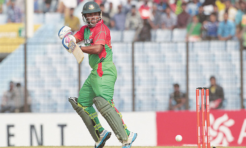 Anamul, Tamim star in easy win for Bangladesh