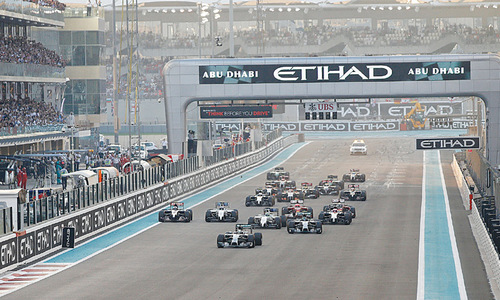 Hamilton claims F1 title with victory in Abu Dhabi