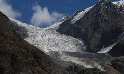 Study of melting glaciers  worries meteorologists