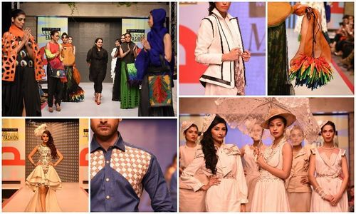 Madiha Raza's collection steals show at Maybelline New York Millennial Fashion 2014