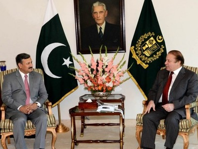 PM Nawaz, DG ISI discuss matters relating to national security