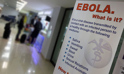 Man hospitalised in Chiniot for suspected Ebola
