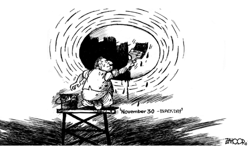 Cartoon: 25 November, 2014