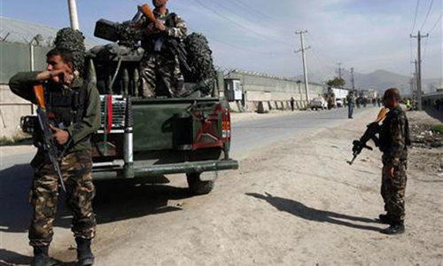 Afghan capital hit by two blasts, army casualties