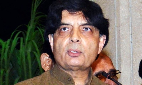 Nisar says containers  placed too soon