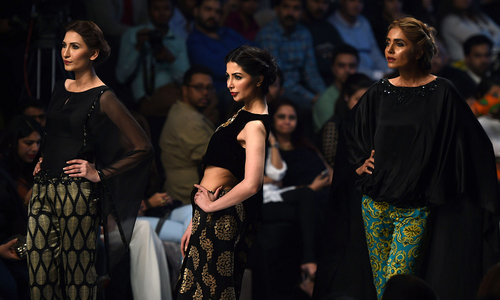 Fashion Pakistan Week in Karachi: Day 1