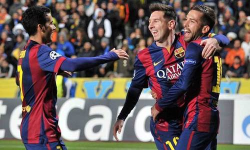 Record hauls ease damaging year for Messi's legacy