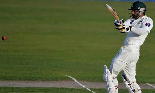 Pakistan on top as Hafeez nears maiden double ton