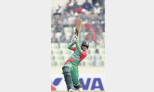 Bangladesh thump Zimbabwe again to seal ODI series