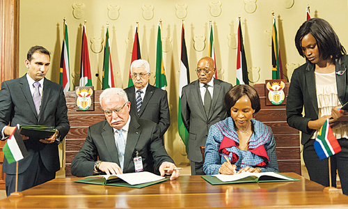 Israel defying world, says South Africa