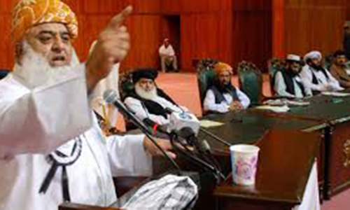 JUI-F announces protest plan