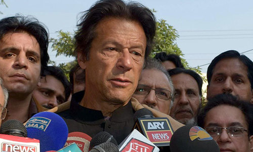 Imran asks tribunal not to link verdicts on NA-122, PP-147