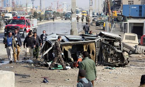 کابل: برطانوی سفارتخانے کی گاڑی پر حملہ، پانچ افراد ہلاک