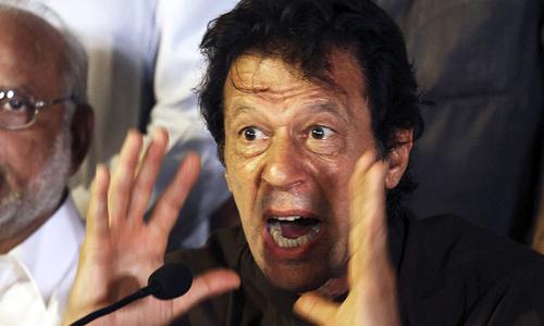 عمران خان کارکنان کی تقسیم سے خوفزدہ