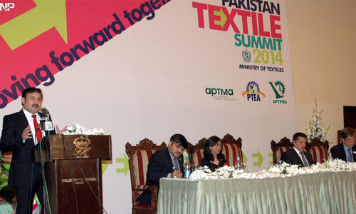 Draft of textile policy to be ready in three weeks, says Afridi