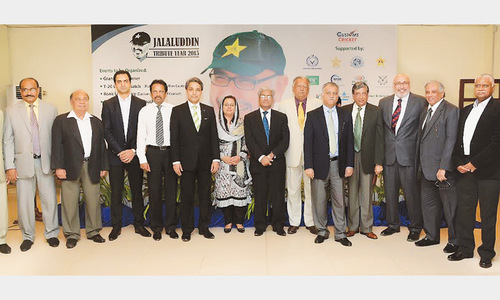 Grand tribute year planned for Jalaluddin as he vows to serve cricket