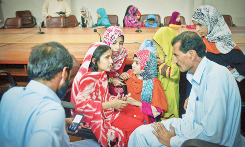 35 little girls moved to Sindh govt shelter