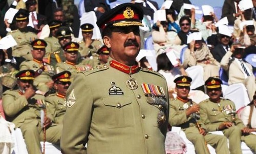 Gen Sharif's stance on terrorists pleases US