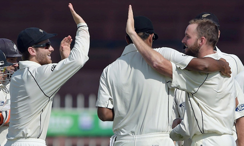 New Zealand 7-0 after Pakistan's 351