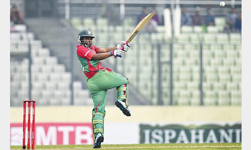 BD overwhelm Zimbabwe to make it 4-0