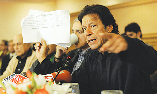 Imran and minister in fierce war of words