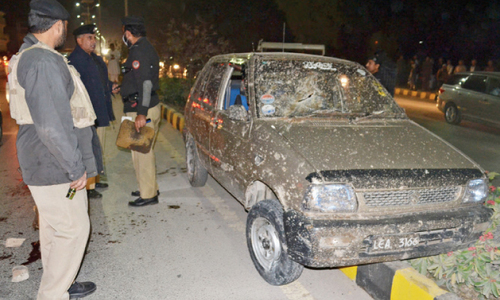 One killed, four injured in Peshawar blasts