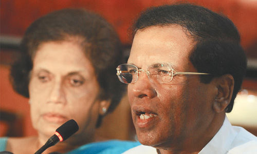 Opposition candidate vows to protect Rajapaksa against war crimes trial