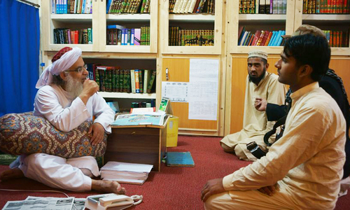 Lal Masjid cleric files petition against police 'harassment'