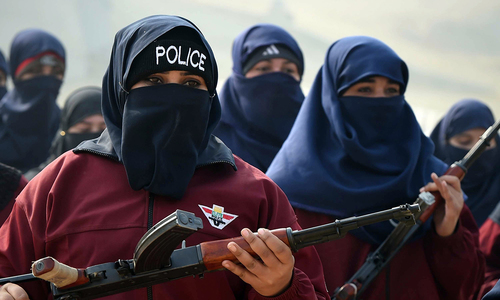 Meet Pakistan's fearless female police commandos