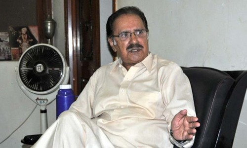 Dejected Fahim angry at top PPP leadership over neglect of Sarwari Jamaat