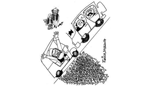 Cartoon: 30 December, 2014