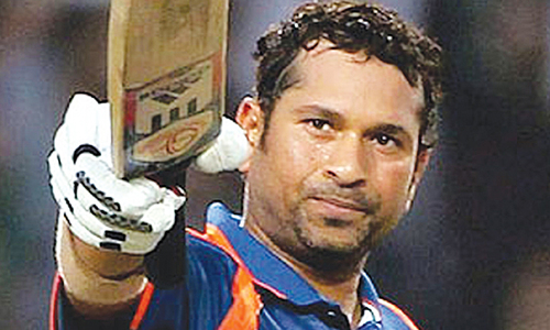 the sports personality sachin tendulkar who influenced you the most