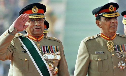 Musharraf blames Kayani for delay in action against Taliban