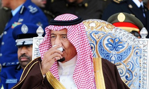 King Salman's shady past