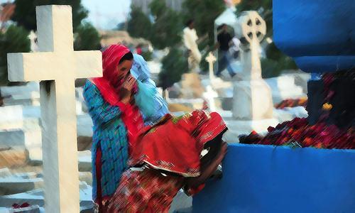 Grave matters: A bazaar atop a graveyard