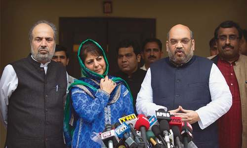 Modi's party to be part of Kashmir coalition govt