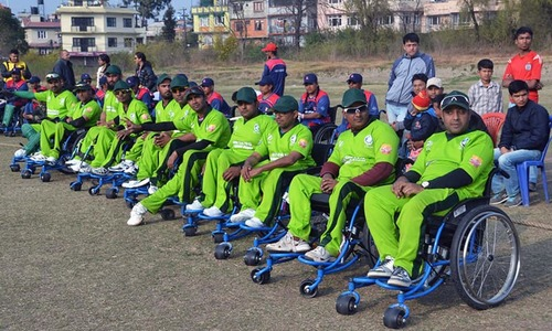 Will power is all you need, disabled cricketers tell Pakistan team
