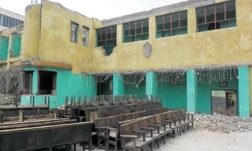 Abbottabad loses historic Taj Mahal cinema