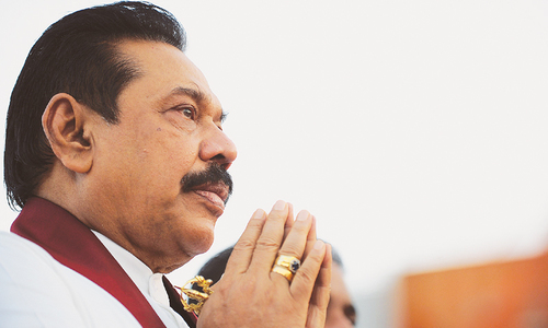 Footprints: Five minutes with Sri Lanka's former president