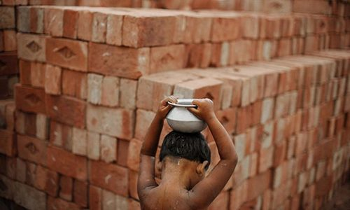 'Pakistan third in human slavery ranking'