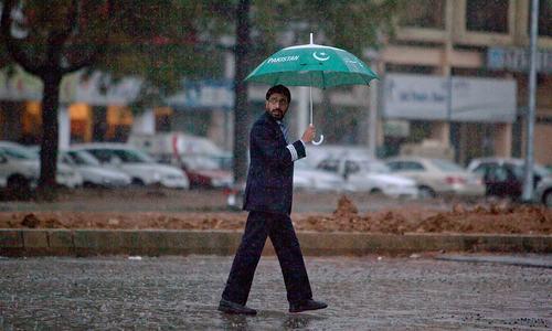اسلام آباد اور نئی دہلی میں بارشیں