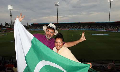 From Bradford to Napier: Fan's love of Pakistan takes him around the world
