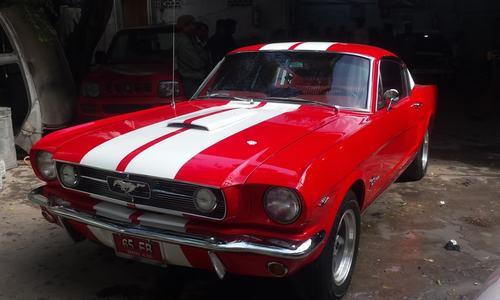Hot wheels: Karachi's car wizard brings 1965 Mustang back to life