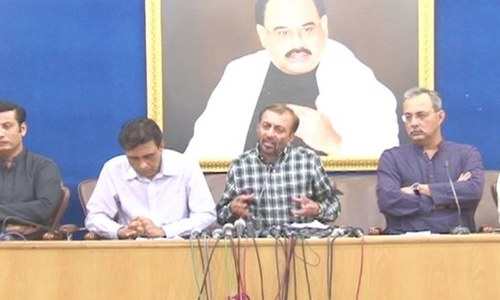 Farooq Sattar rebuffs claims of confrontation with Rangers