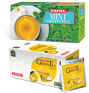 Breaking clutter: The old SKU of Tapal Green Tea that doubled up as a tea bag holder is now gone and has been replaced by a packaging format similar to a matchbox.