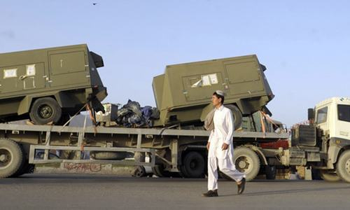 Karachi port never used for transporting arms: US