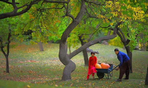 Hunza valley: A whole new spectrum of colours