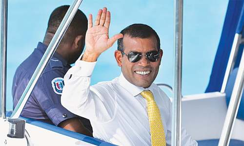 Nasheed prevented from appealing against jail sentence